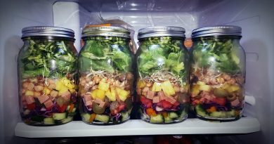 5 Mason Jar Salad Receipies on iContentMart