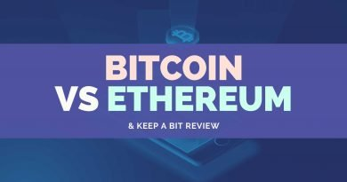 Bitcoin Vs Ethereum & Keep A Bit Review